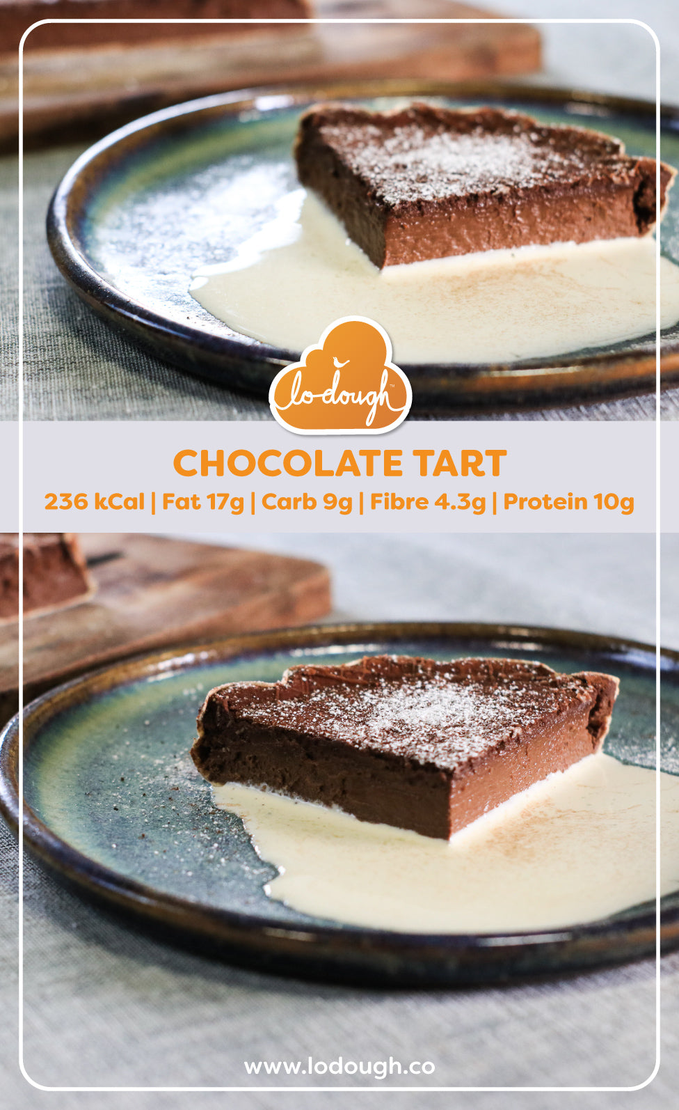 Low Carb Chocolate Tart