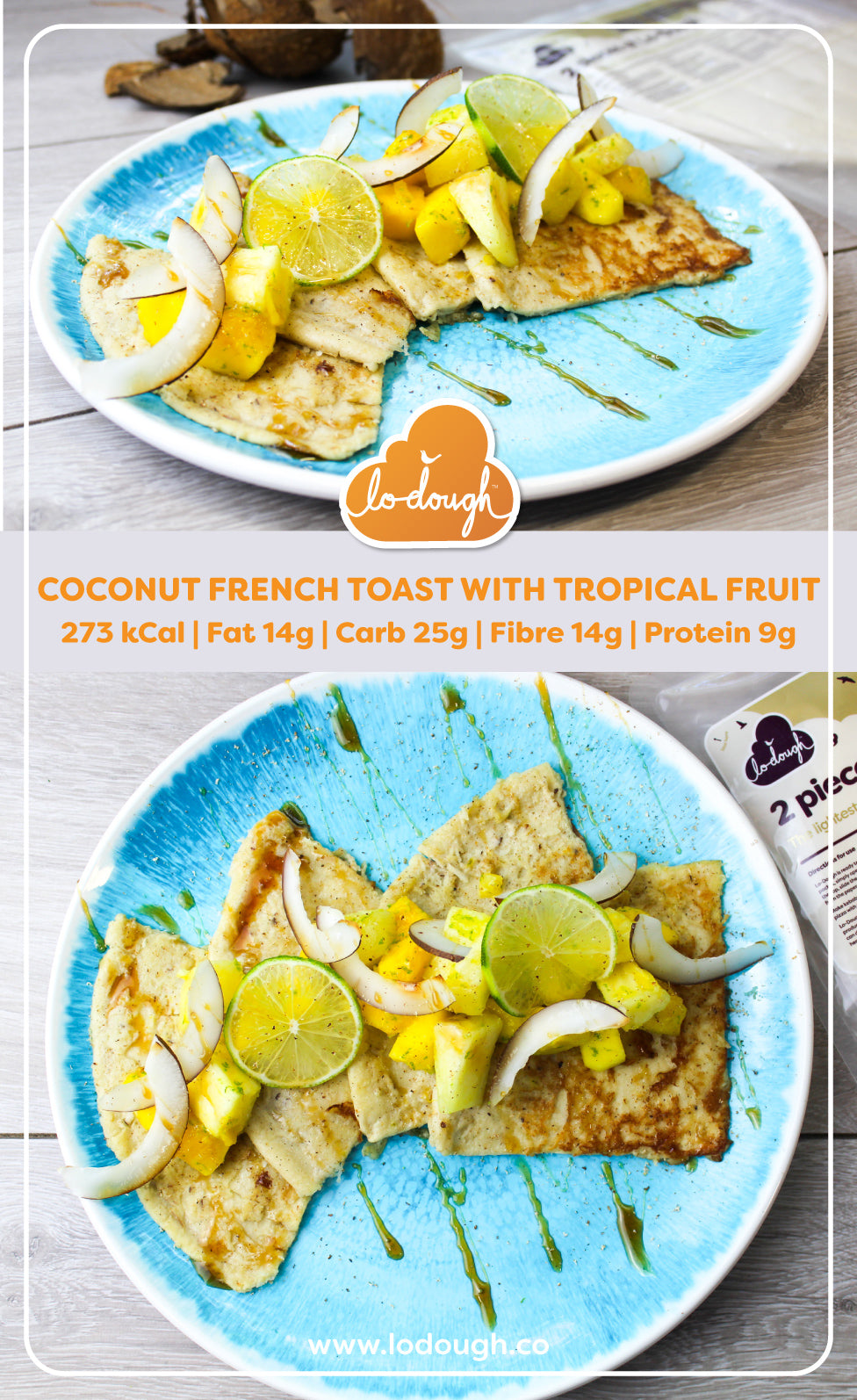 Coconut French Toasts