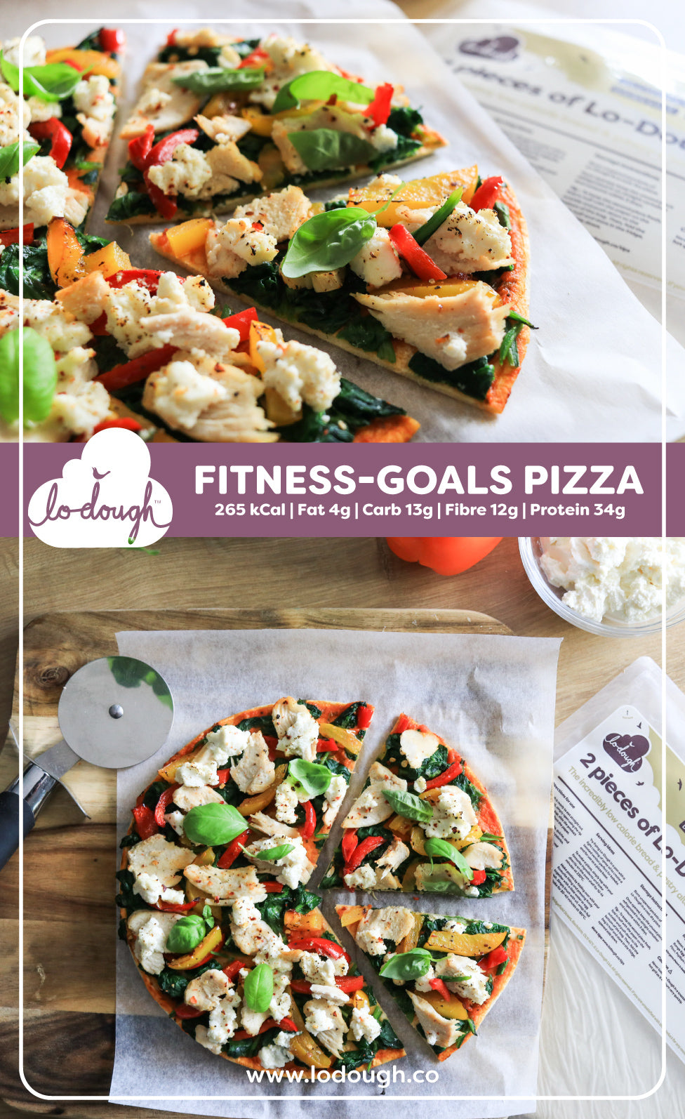 Fitness Goals Pizza