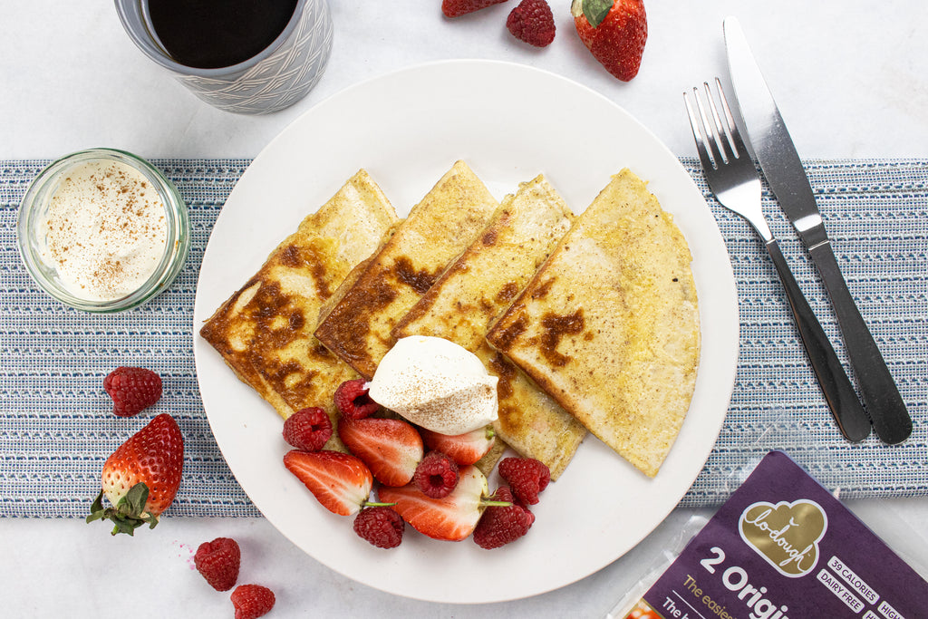 Low sugar french toast