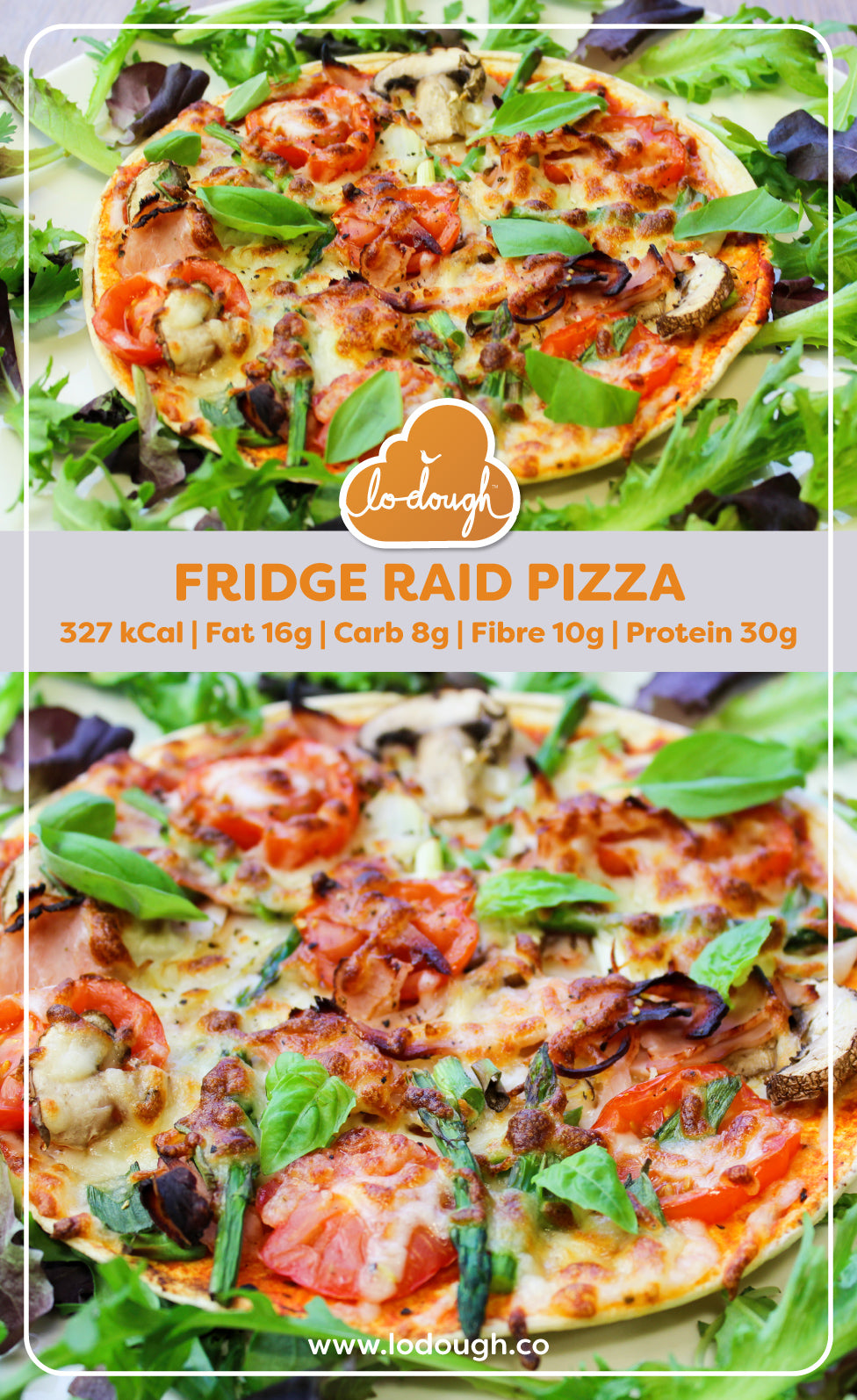 Fridge Raid Pizza