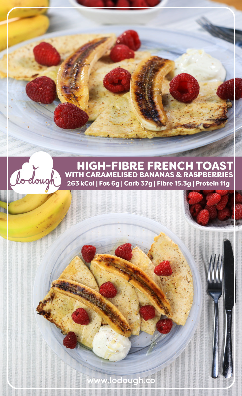 High-Fibre French Toast