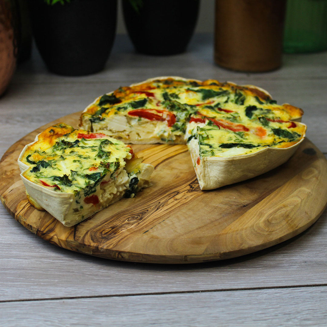 lo-dough quiche guide