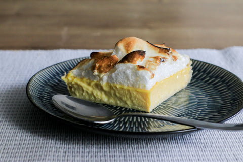 low sugar lemon meringue pie
