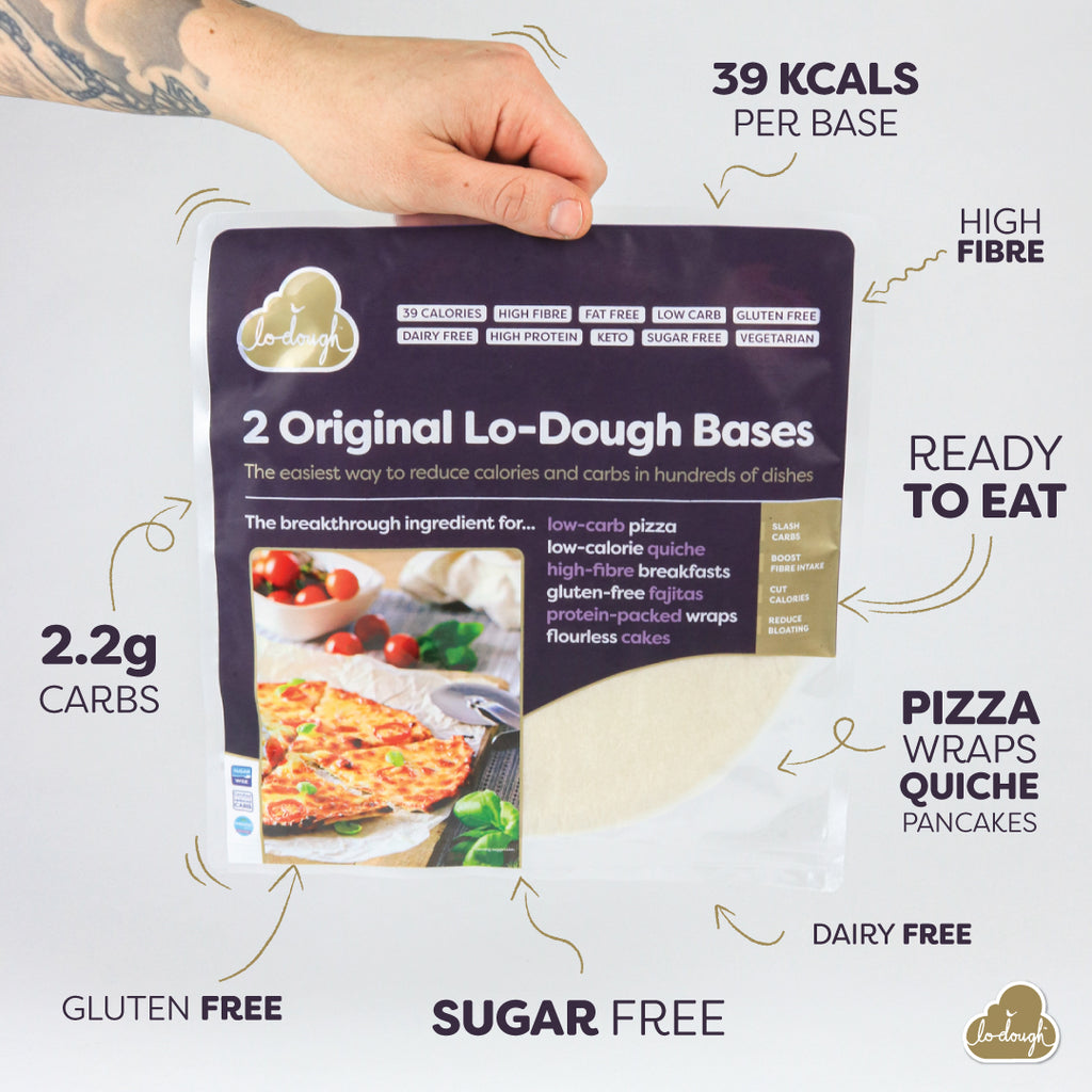 Low Carb Pizza Base