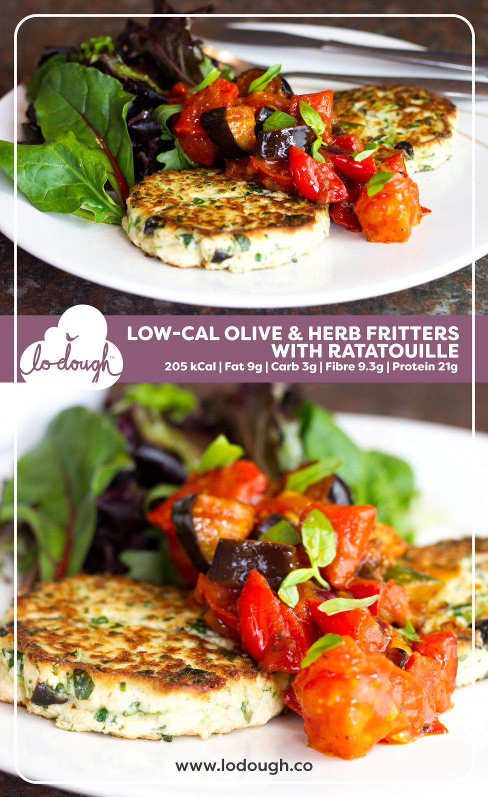 Low Calorie Fritters