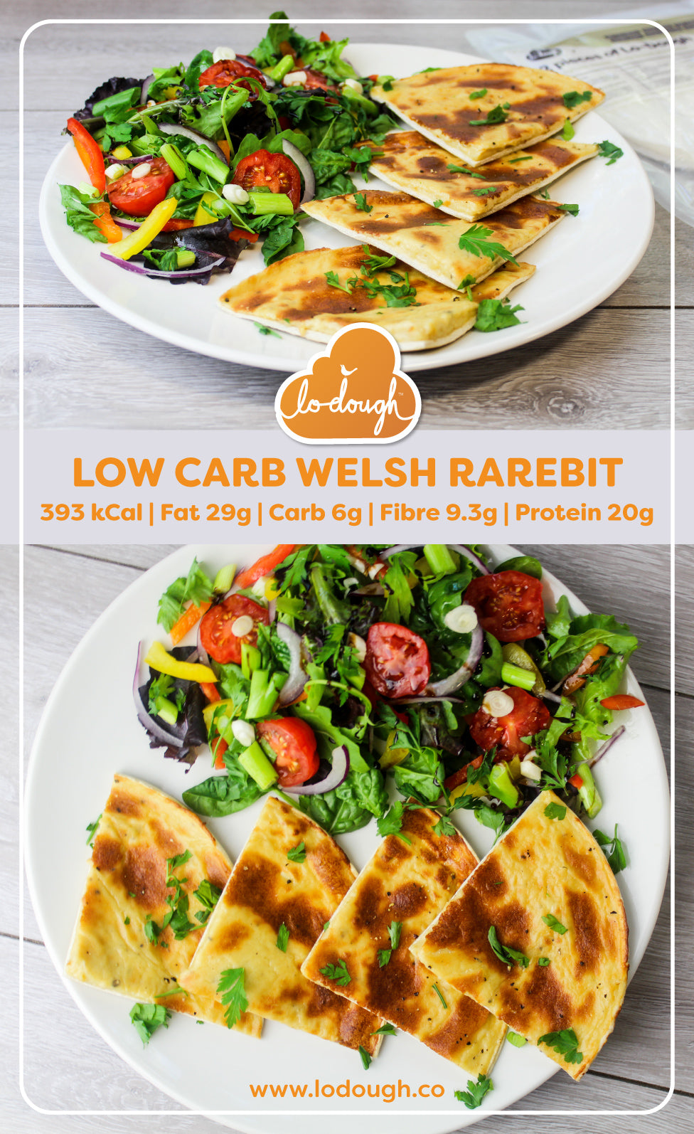 Low Carb Welsh Rarebit