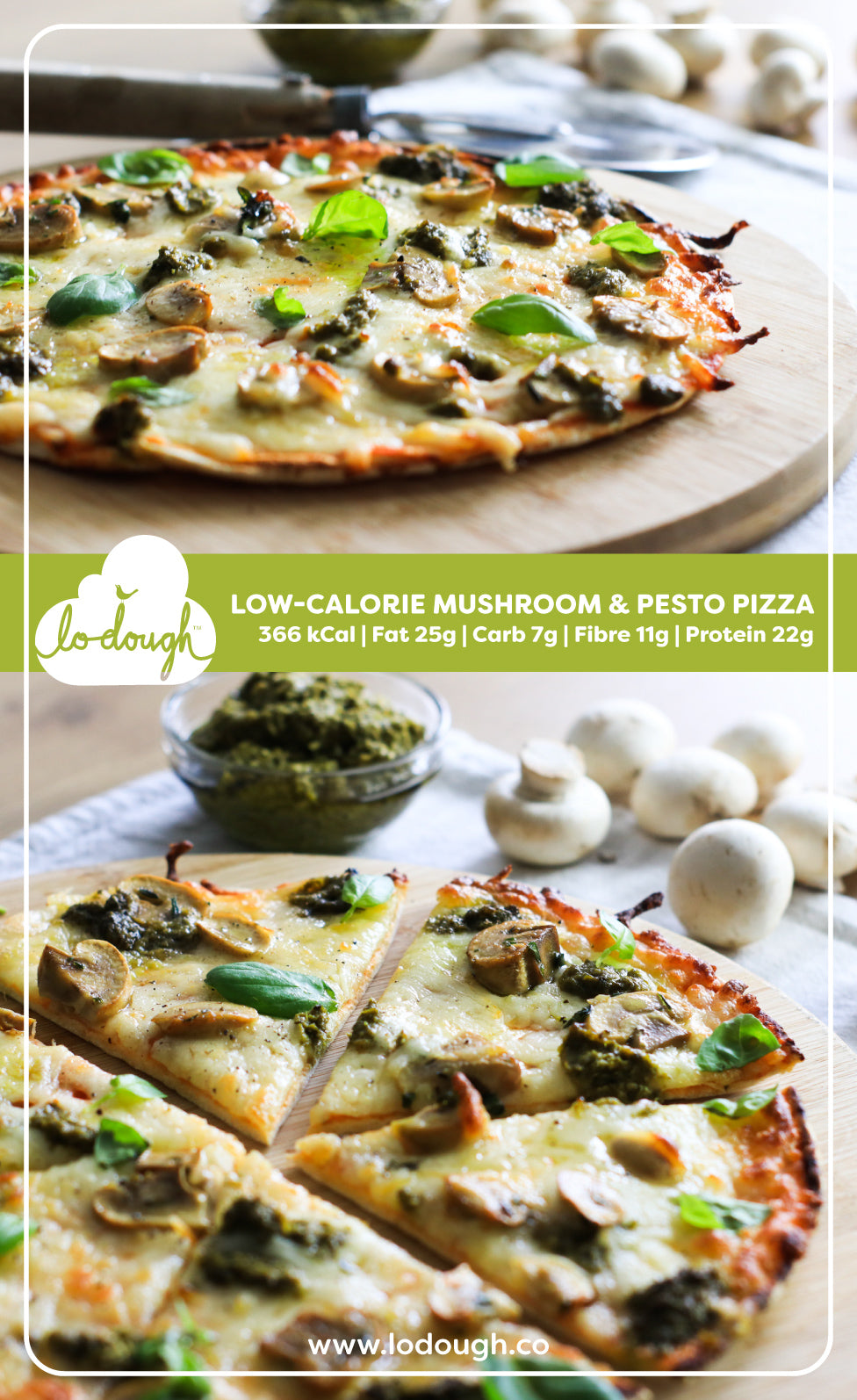 Low Calorie Pizza
