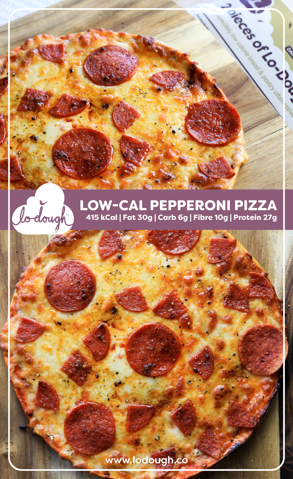 Low-Calorie Pizza