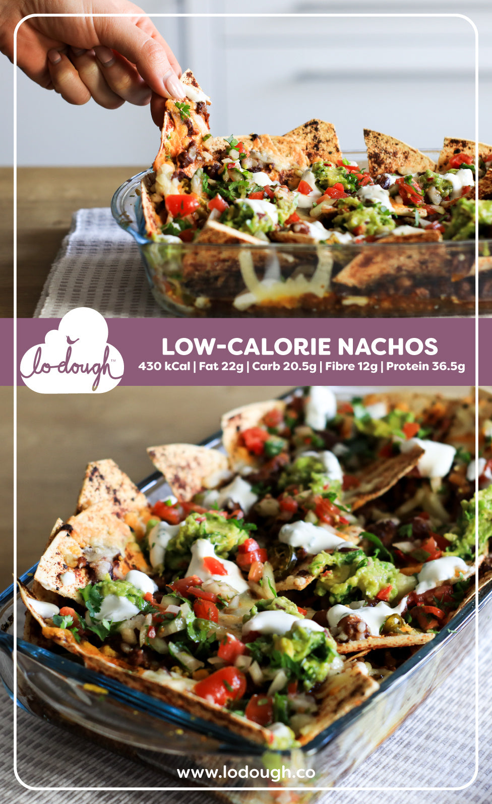 Low-Calorie Nachos