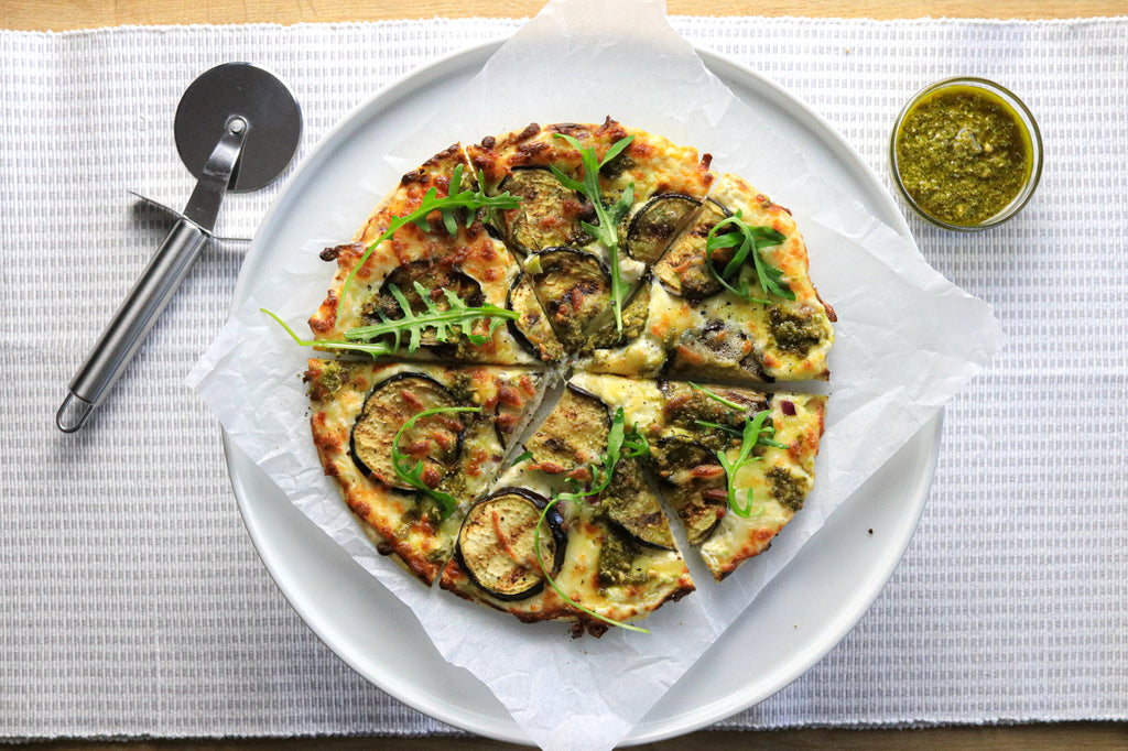 Low carb veggie pizza