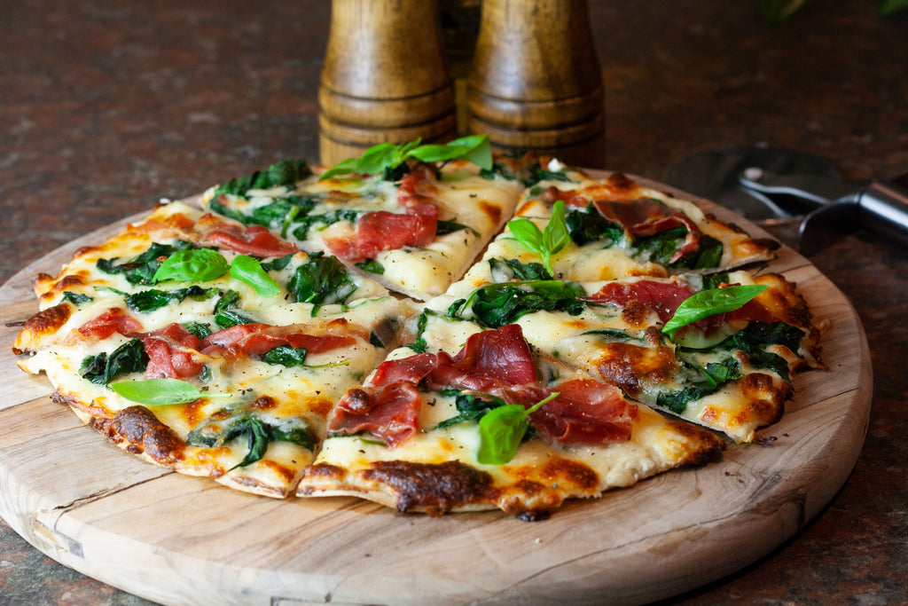 Low carb bianca pizza