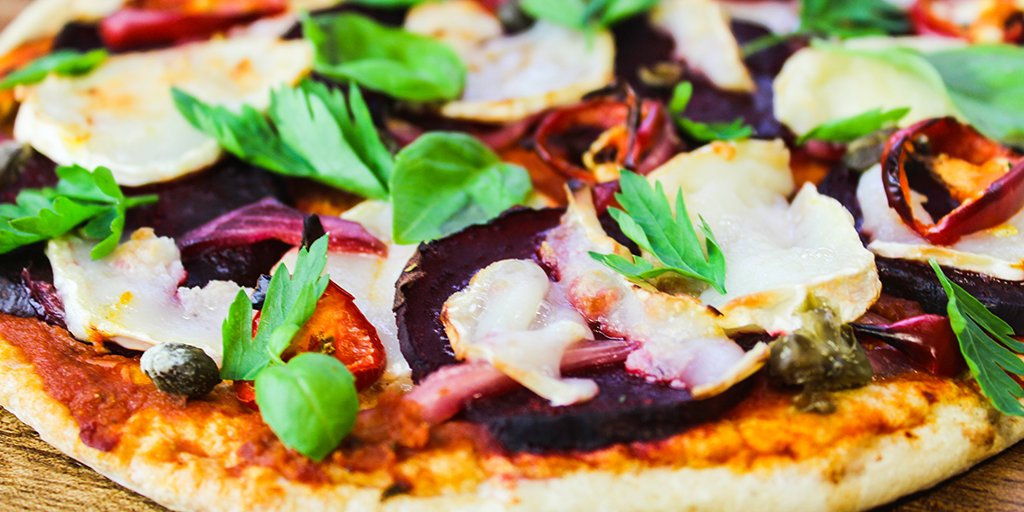 Beetroot & Goats Cheese Pizza