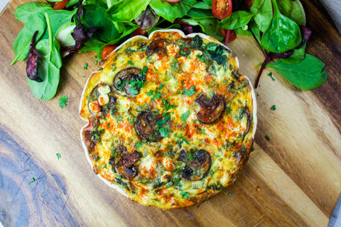 Slimming-Friendly Vegetarian Quiche