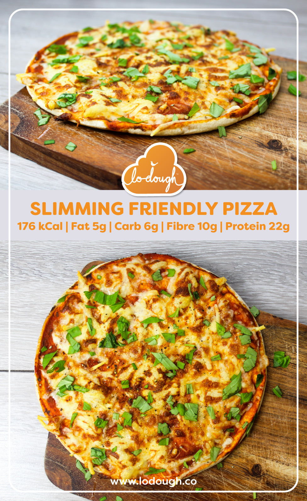 Slimming Friendly Pizza