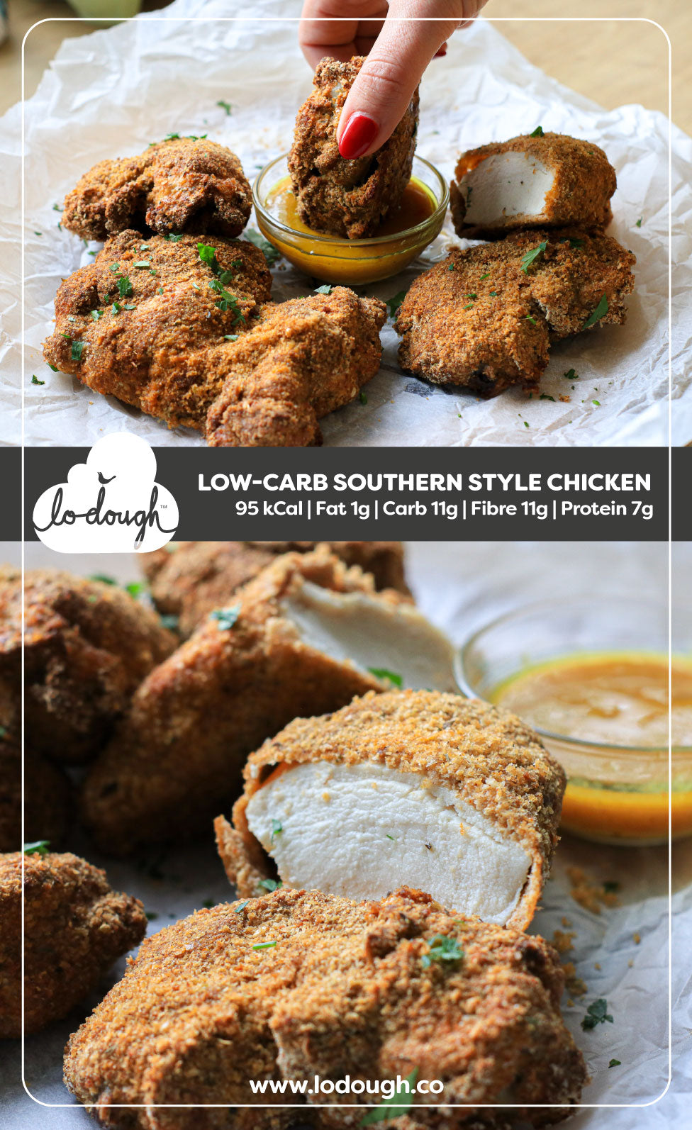 Low Cal Southern Fried Chicken