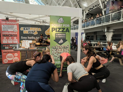 Squat for pizza at Be:FIT