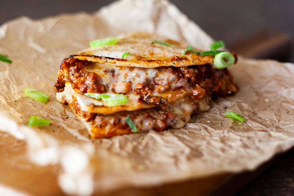 Low Carb Bolognese Toastie