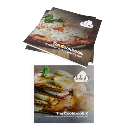 Lo-Dough Cookbooks Vol. 1 & Vol. 2