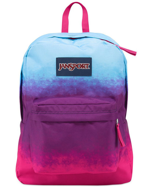 Sky Blue and Pink School Bag