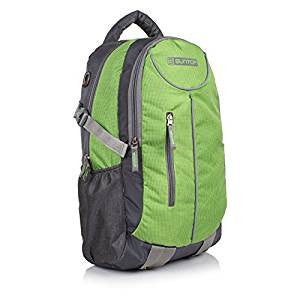 Suntop Graphite Grey & Green Checks Laptop Backpack