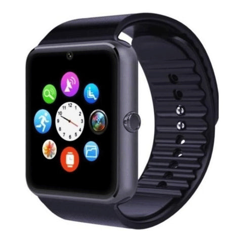 GSM & Bluetooth Smart Watch - GT08 - Black