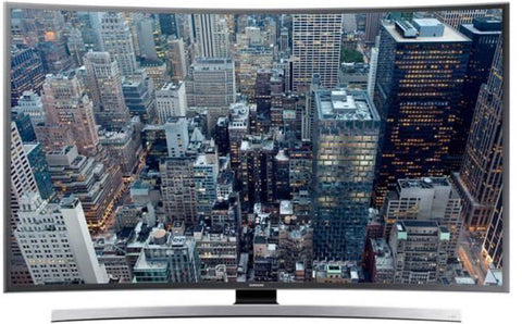 Samsung - 4K Curved UHD Smart LED TV 49 inches 49KU7350 - Black