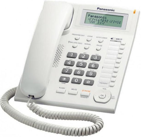 Panasonic - Integrated Phone System - KX-TS880 - White