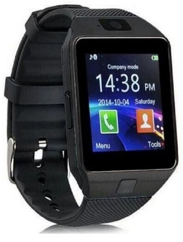 Apna Electronic - DZ09 - Bluetooth Smart Watch - Black