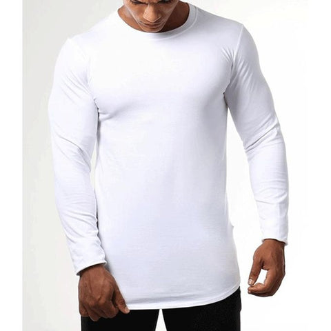 The Ajmery - Cotton Slim Fit T-Shirt - White