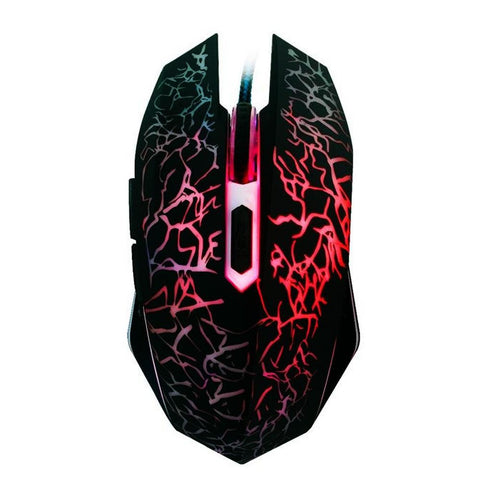 LED Gaming Style Mouse - Multicolor