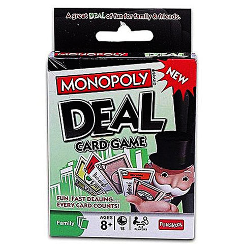 Monopoly Deal Card Game - MultiColor