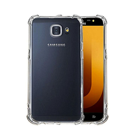 differently 8ea99 71be8 Shockproof Luxury Tpu Jelly Cover For Samsung Galaxy J7 Max - Transparent