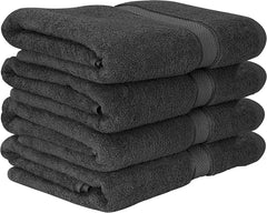 63f722e5 Utopia Towels - 600 GSM Luxury Cotton Bath Towels - Grey