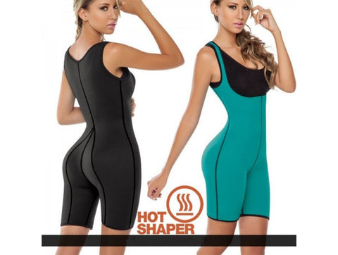 The Ajmery - Hot Shapers Neoprene Body Suit - Multicolor