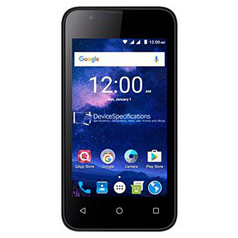 QMobile X36 - 4.0 INCH - 8 GB ROM - 1 GB RAM - Black
