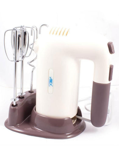 Anex - Deluxe Hand Mixer - AG-814 - Brown & White