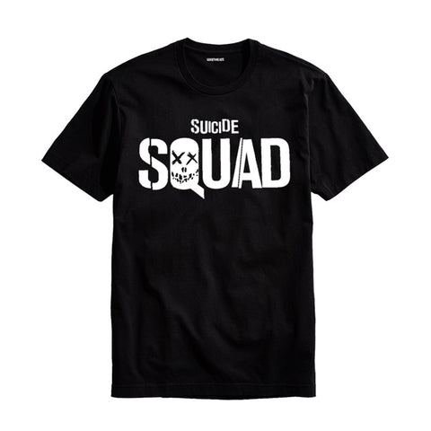 The Ajmery - Men's Suicide Squad Printed T-Shirt - Ssd-70 - Black