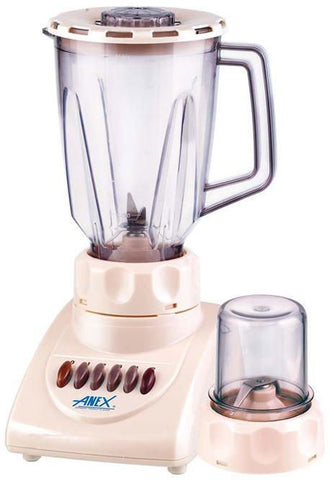 Anex - 2 in 1 Blender & Grinder - AG-697 - 300 W - White