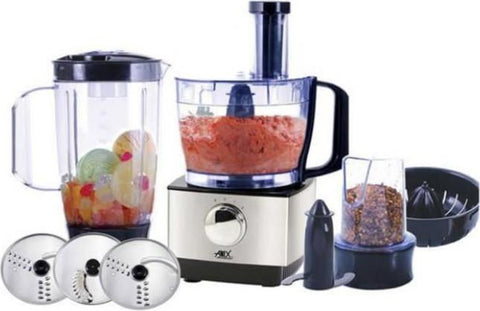 Anex - Food Processor With Grinder AG3041 - Black
