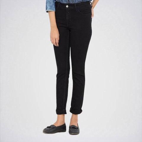 Ajmery Enterprise - Women's Skinny Jeans - KT-73 - Black