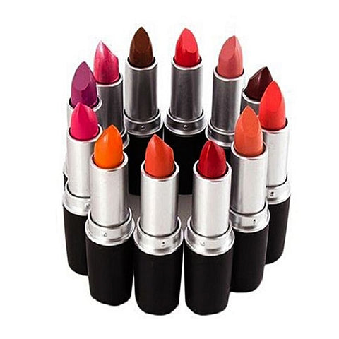 Pack Of 12 - Lipsticks for Women - MultiColor