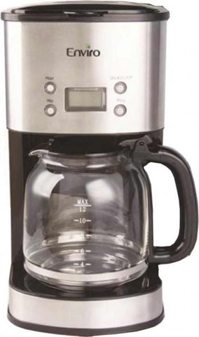 Enviro - Coffee Maker - CM 4216 1.8L - Black & Silver