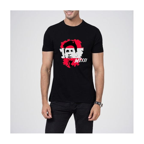 Ajmery Enterprise - Messi Ismi T-Shirt Men's - Black