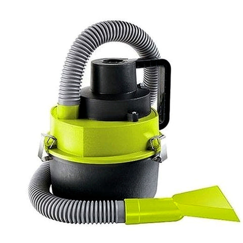 Wet & Dry Auto Vacuum - Grey & Yellow