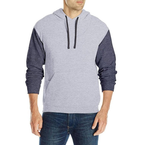 Ajmery Enterprise - Fleece Hoodie For Men - Ch-4 - Heather Grey