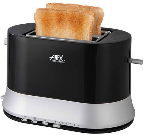 Anex - AG-3017 - 2 Slice Toaster - Black