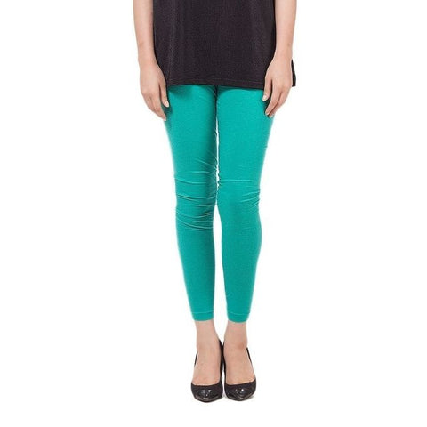 The Ajmery - Viscose Tights For Women - Teal Blue