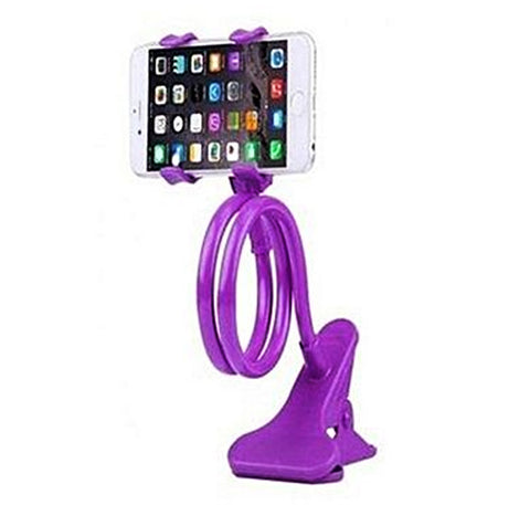 Universal Flexible Mobile Stand - Purple
