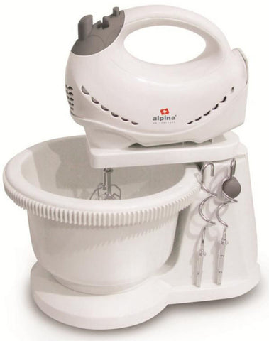 ALPINA - Hand Mixer With Bowl - White